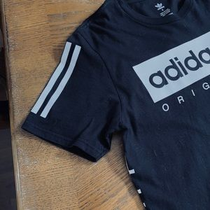 Men's size small Adidas Japan black tee